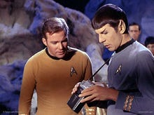 Mr. Spock's Smartphone: A spectrometer for your keychain