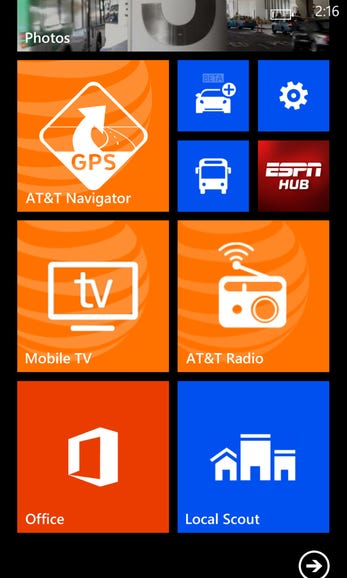 AT&T preinstalled apps