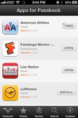 iOS 6 Passbook apps - Jason O'Grady