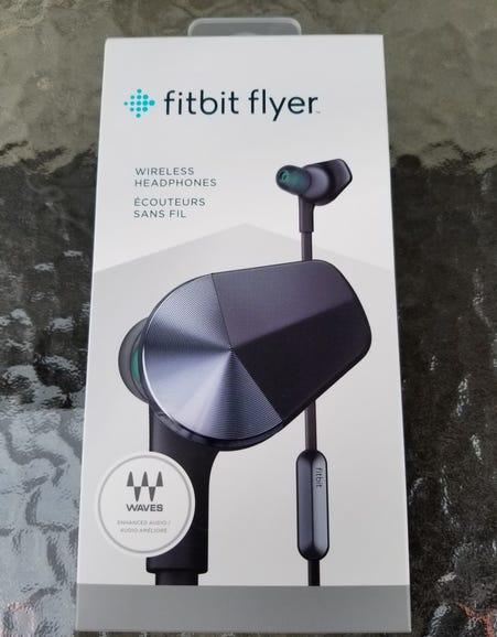 Fitbit Flyer retail package