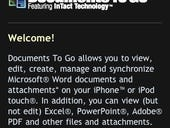 Image Gallery: Documents To Go for Apple iPhone & iPod Touch