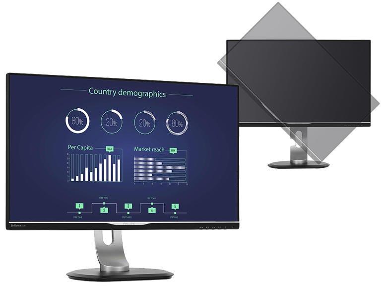 Philips LCD Monitor With USB-C Dock (258B6QUEB)