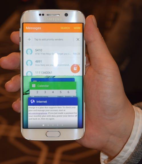 Samsung's Galaxy S6 window fiesta