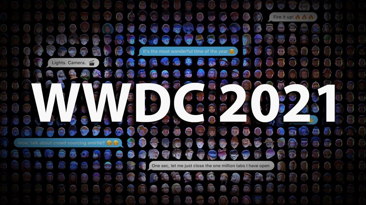 Create WWDC 2021 background