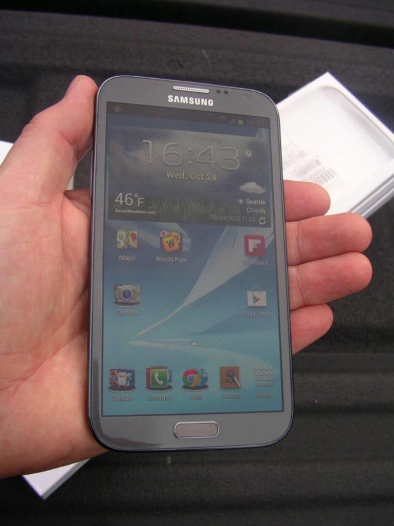 T-Mobile Galaxy Note II first impressions: Samsung stepped up to the plate with this upgrade