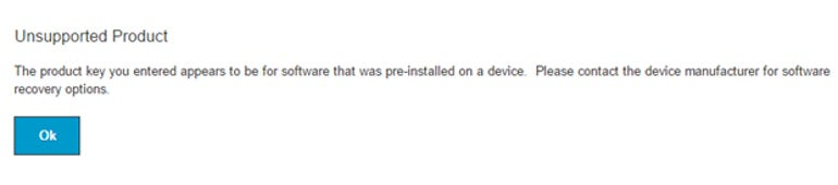 Windows 7 Recovery Media not available for OEM versions