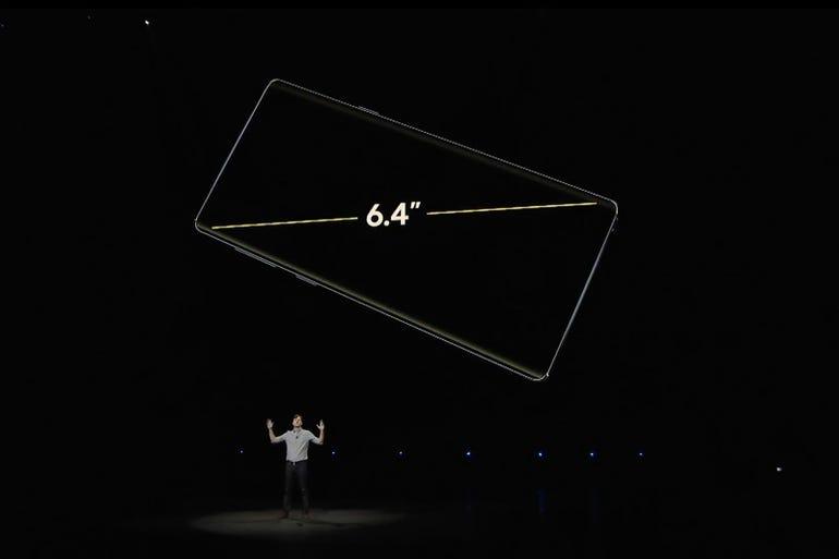 Galaxy Note 9: Stunning display