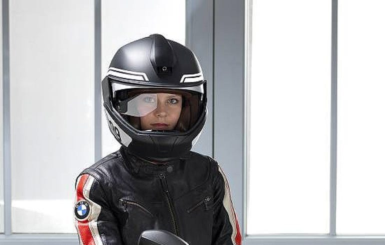BMW's high-tech motorcycle helmet