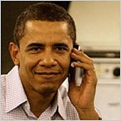 Verizon snoops peek at ObamaÂ's cell phone records