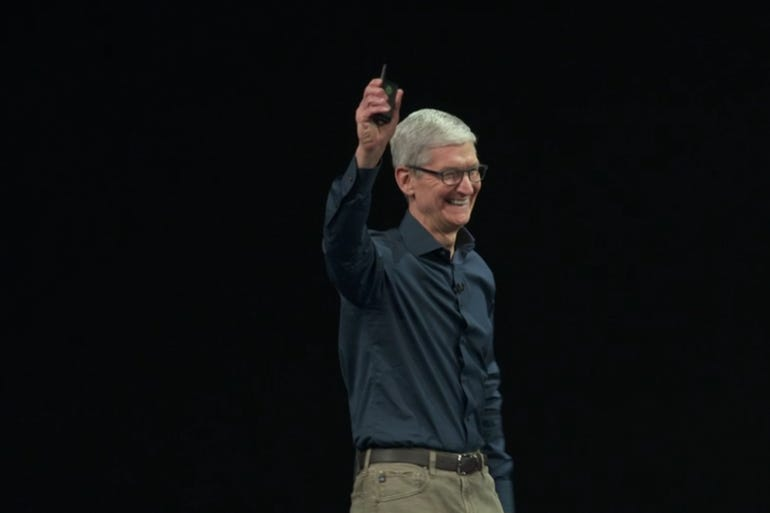 Apple's 2018 iPhone event: CEO Tim Cook takes the stage