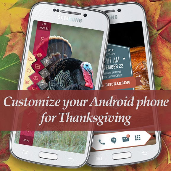 Theme your Android phone