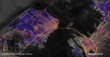 Now Google maps street-level pollution data across LA, San Francisco, California