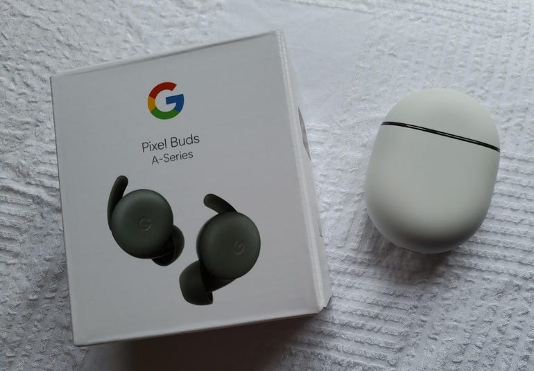 Google Pixel Buds Series A retail package