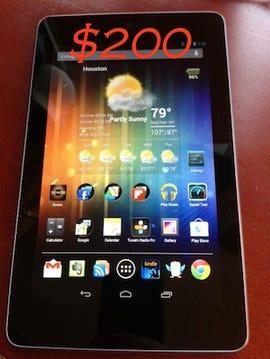 Nexus 200 bucks