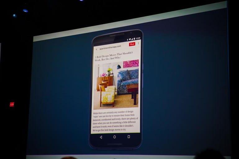 Chrome meets app