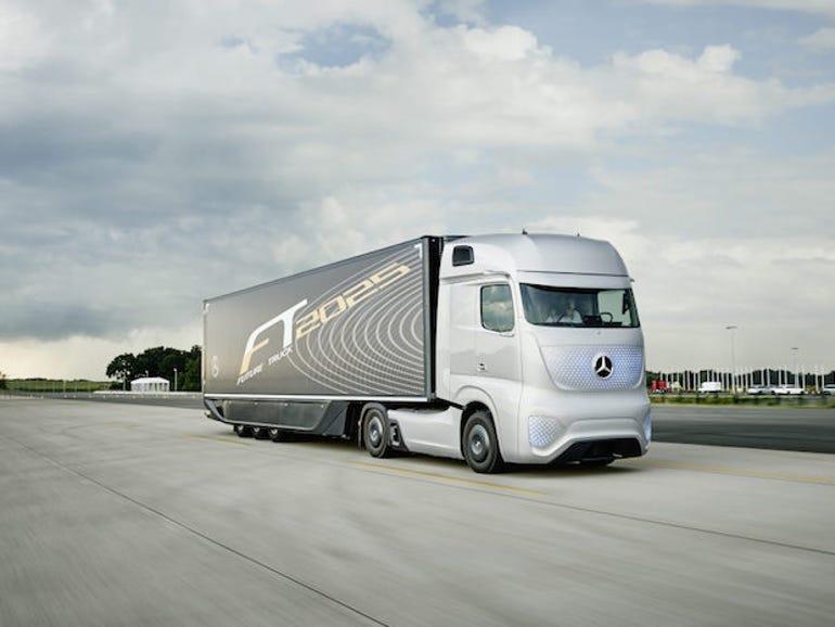 Daimler's self-driving Future Truck.