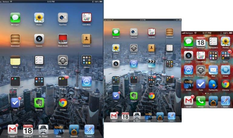 iOS sameness