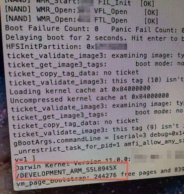 iBoot screenshots leak the iPad 3's A6 processor