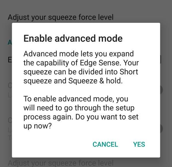 Enable enhanced mode