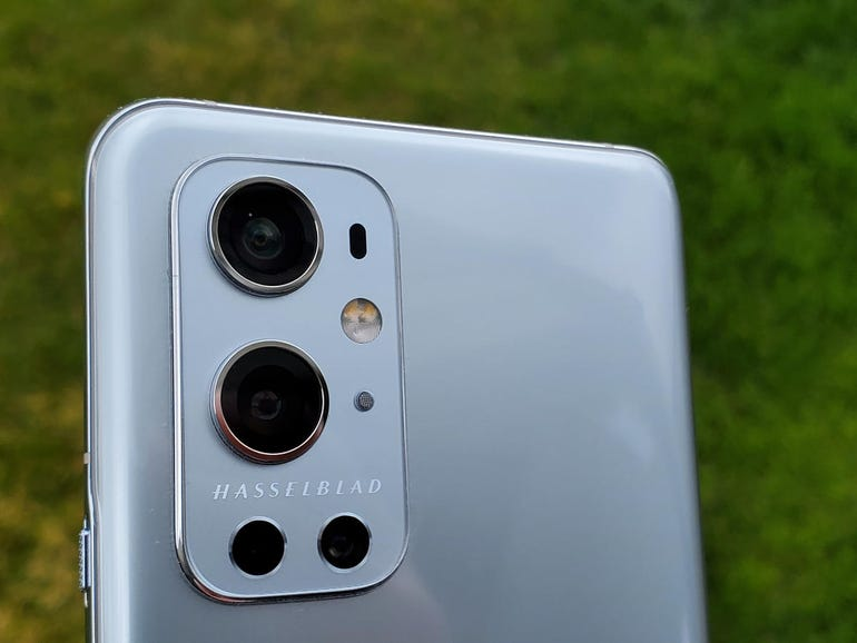 Upper back of the OnePlus 9 Pro