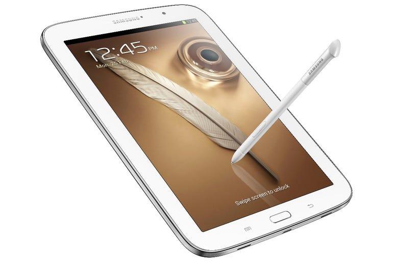 2013: Samsung Galaxy Note 8 tablet