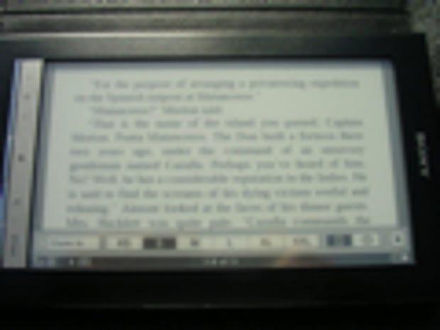 Image Gallery: Reading in landscape orientation width=