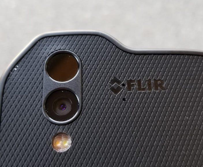 Rear camera and thermal imaging sensor