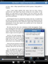 Image Gallery: Settings in Bluefire Reader