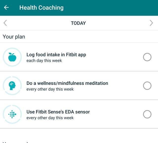Health Coaching initial plan