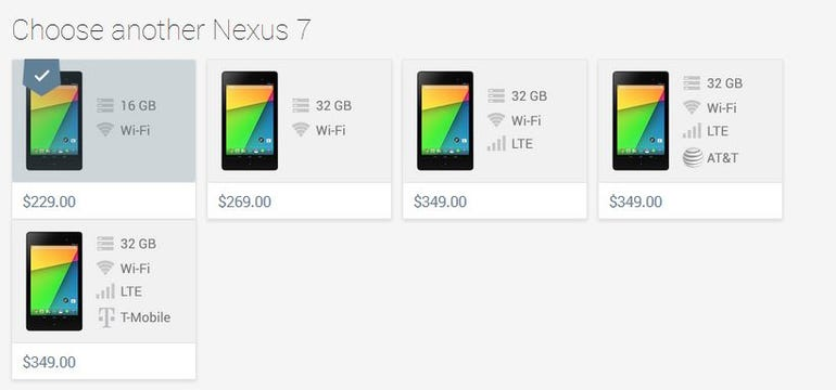 Nexus7pricing