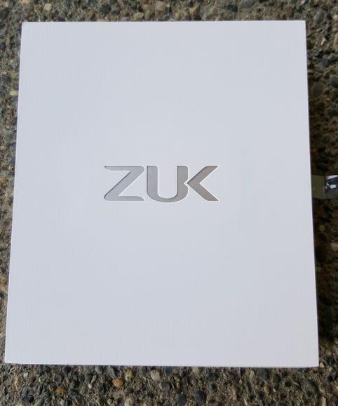 ZUK Z1 retail package