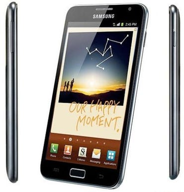 T-Mobile Galaxy Note coming in weeks with Android Ice Cream Sandwich