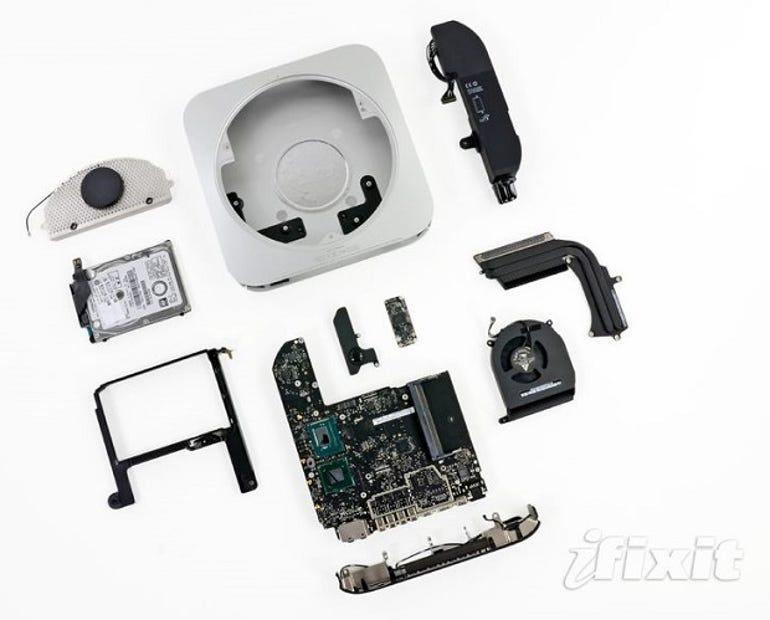 apple-mac-mini-ifixit-teardown-repair
