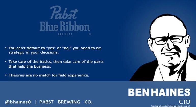 Ben Haines, CIO, Pabst