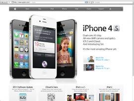Safari in full-screen mode.
