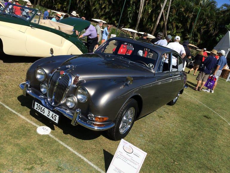 1966 Jaguar Sedan