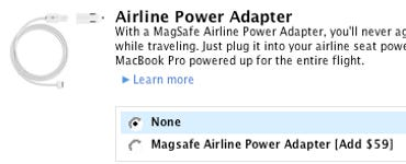 MagSafe Airline Power Adapter