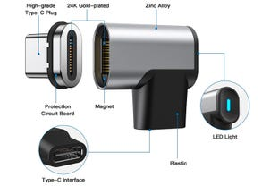 24-pin USB-C magnetic breakaway connector