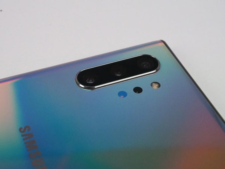 Quad rear camera system on the Note 10 Plus
