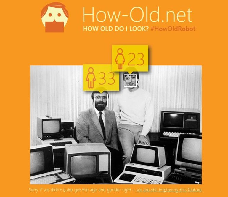 Paul Allen looks 33 while Bill Gates looks 23, says how-old.net
