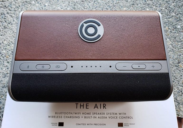 Top of the Cavalier Air with leather covering