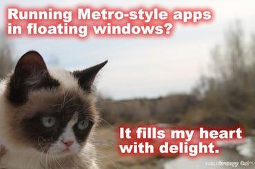 Grumpy Cat - Metro-style