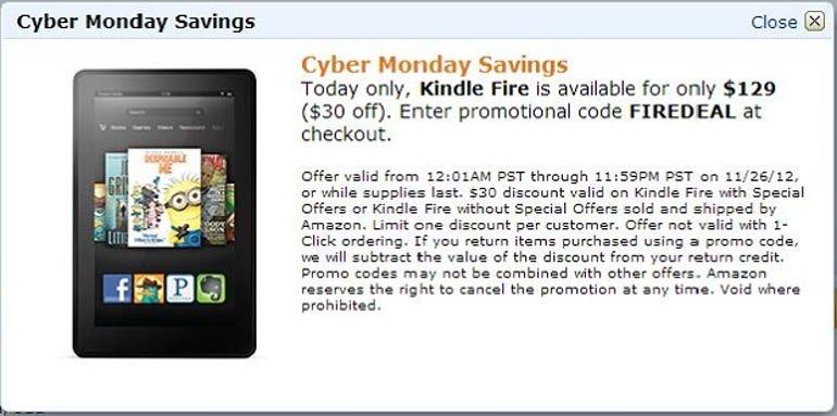 cyber-monday-2012-tablets-deals-sales-amazon-kindle-fire