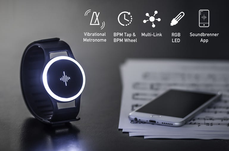 Soundbrenner wearable metronome vibrates beat onto skin to improve your playing ZDNet