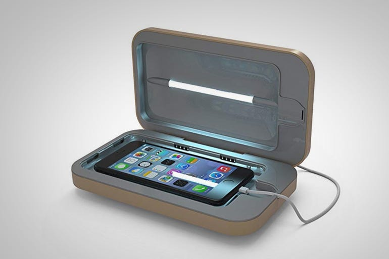 PhoneSoap 2.0 Phone Sanitizer and Universal Charger ($40)