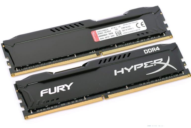RAM: Kingston HyperX Fury 32GB (2 x 16GB) DDR4 2400