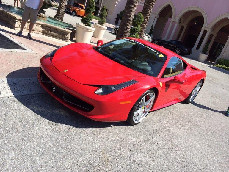 Concours D'Elegance Ferrari 458
