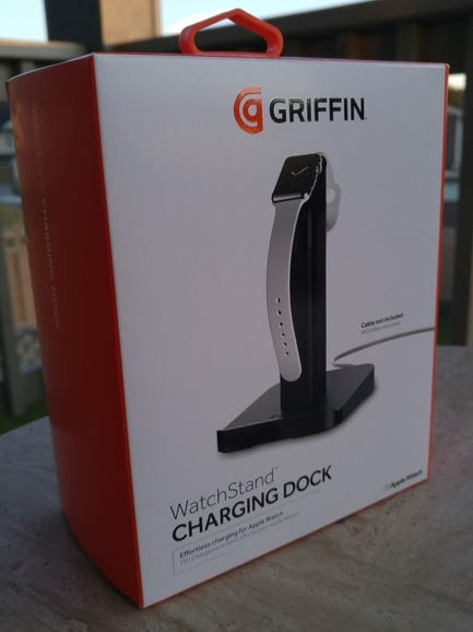 Griffin WatchStand retail package
