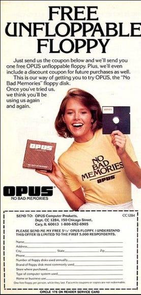 OPUS Unfloppable floppy