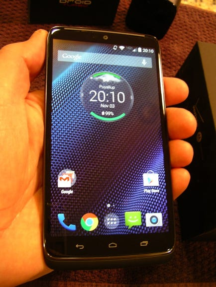 Hands-on with the Droid Turbo